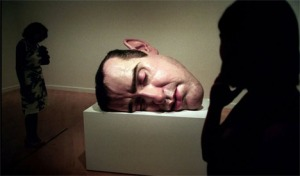 Mask II by Ron Mueck